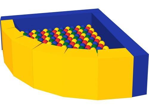 Сухой бассейн с шариками «Фасолька» ДМФ-МК-09.48.00 - вид 1