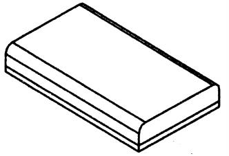 GPCB329 Подушка сиденье GPCB329-PART-E - вид 1