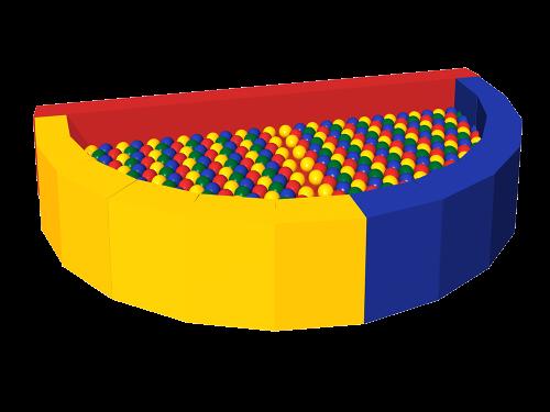 Сухой бассейн с шариками «Ломтик» ДМФ-МК-12.47.01 - вид 1